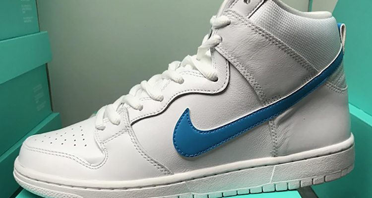 "Nike SB Dunk High ""Mulder"""