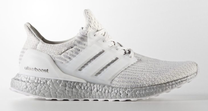 Adidas Ultra Boost 3 0 Quot Crystal White Quot Release Comes With