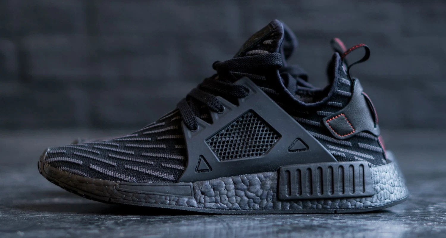 separation shoes 37903 5d126 adidas NMD XR1 Primeknit Core Black/Core Red Drops Overseas ...