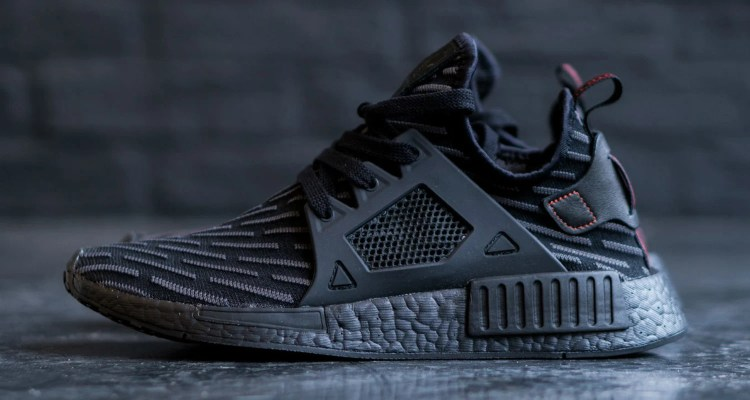 adidas Originals NMD XR1 Primeknit Trainer Core Black / Metallic