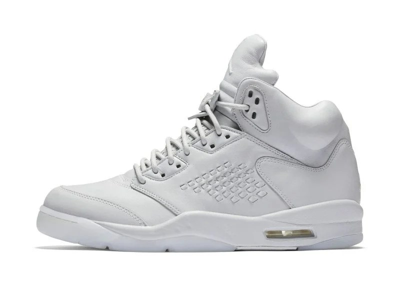 "Air Jordan 5 PRM ""Pure Platinum"""