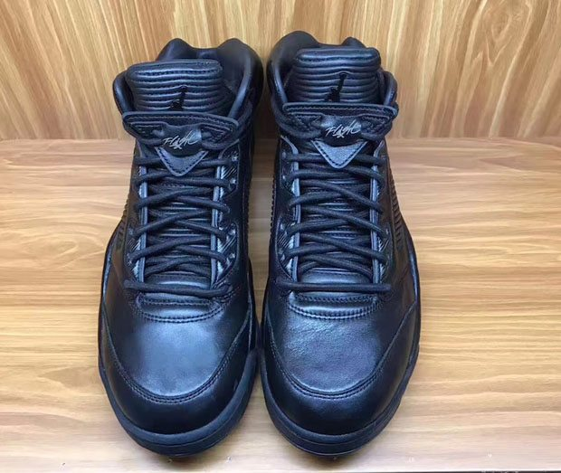 "... Air Jordan 5 PRM ""Triple Black"" . 80aef2ec7"