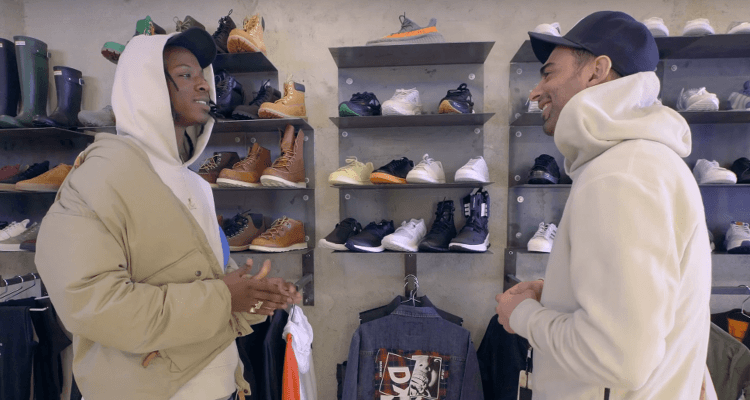 Joey Badass Goes Sneaker Shopping with Joe La Puma