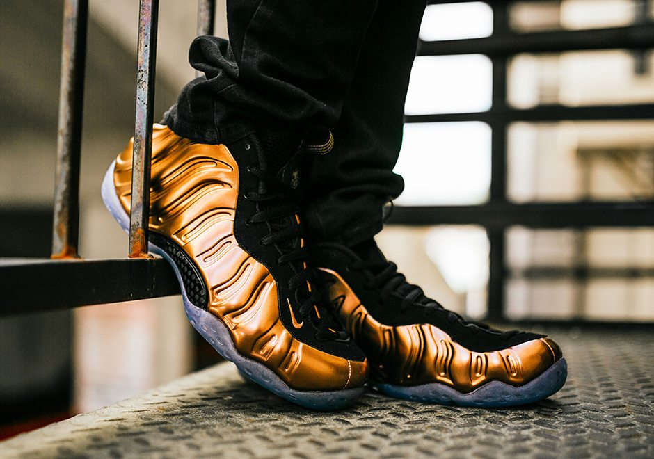 "check out 5a873 4a897 Nike Air Foamposite One ""Copper"" ..."