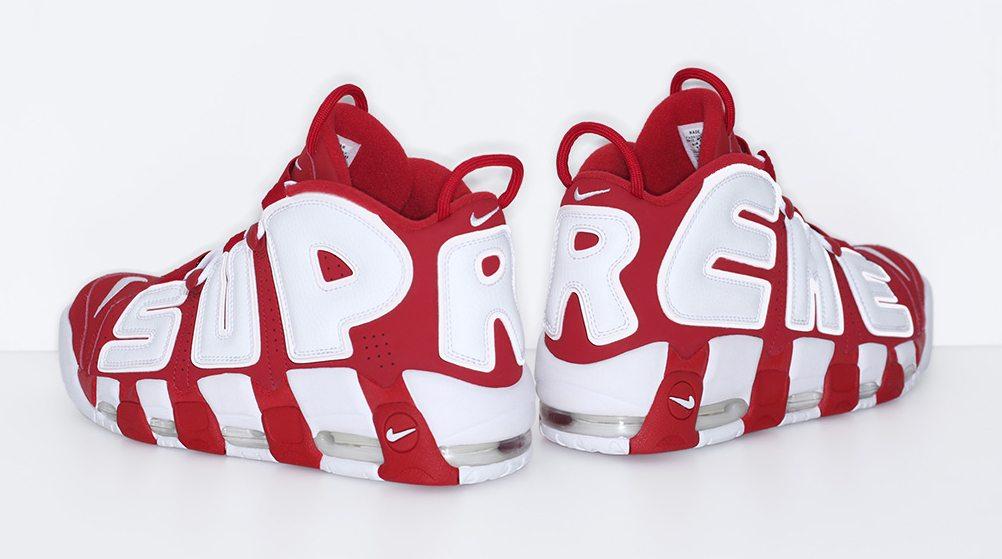 ... Supreme x Nike Air More Uptempo