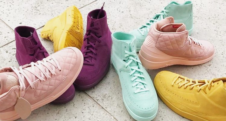 5d80456c s latest air jordan 2 shows ladies premium love in mini lookbook by ...