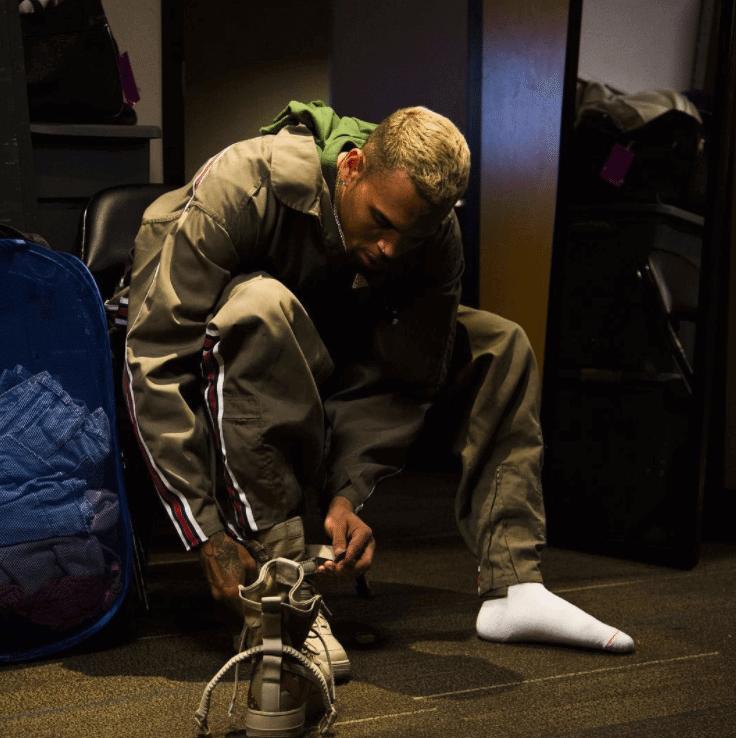 Nike Air Force 1 Champ Spécial Chris Brown