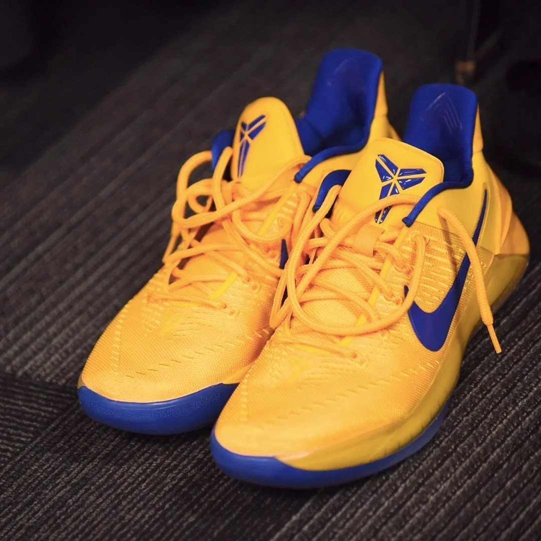 The Golden State Warriors' Sneakers For The Western