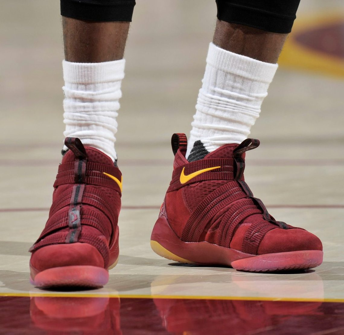huge selection of 962e7 af4e3 ... Check out each of LeBron s Kicks On Court throughout the 2017 NBA  Playoffs, and stay  nike lebron 11 ...