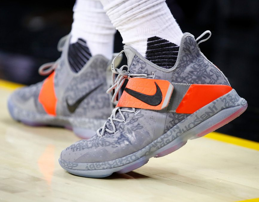 ... Nike LeBron 14 — Game 2 vs Indiana Pacers