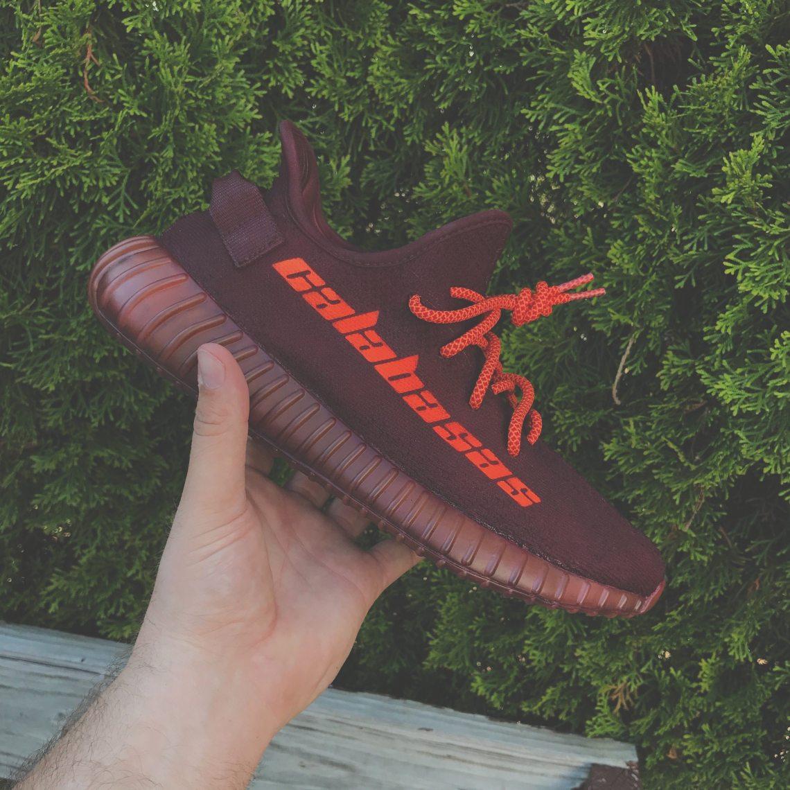"adidas Yeezy Boost 350 V2 ""Calabasas"" Custom by Mache"