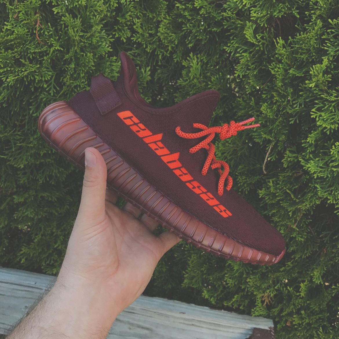 "adidas Yeezy Boost 350 V2 ""Calabasas"" Custom by Mache"