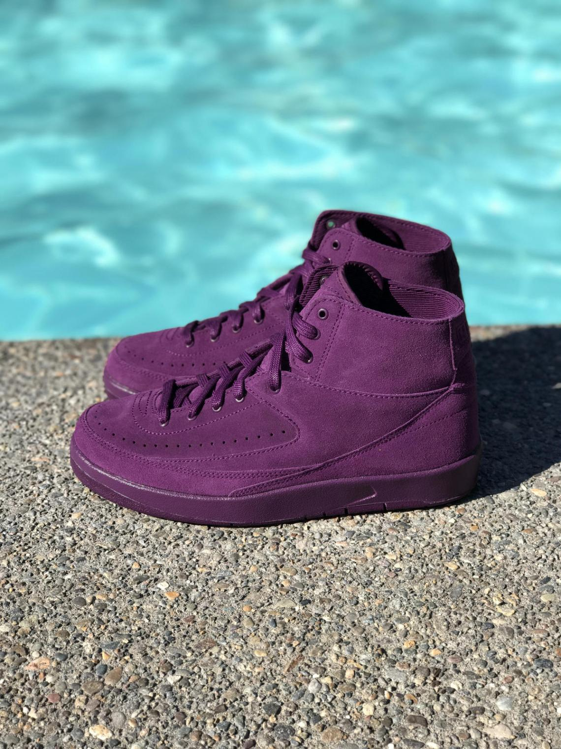 "Air Jordan 2 Decon ""Bordeaux"""