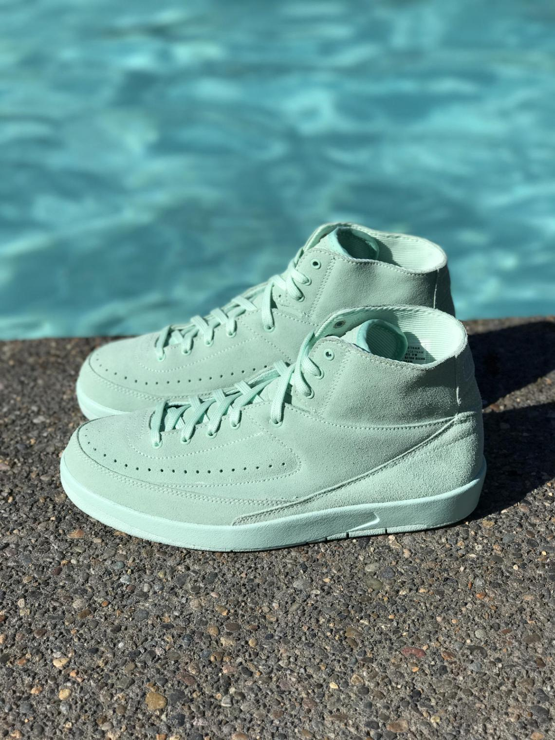 "Air Jordan 2 Decon ""Mint Foam"""