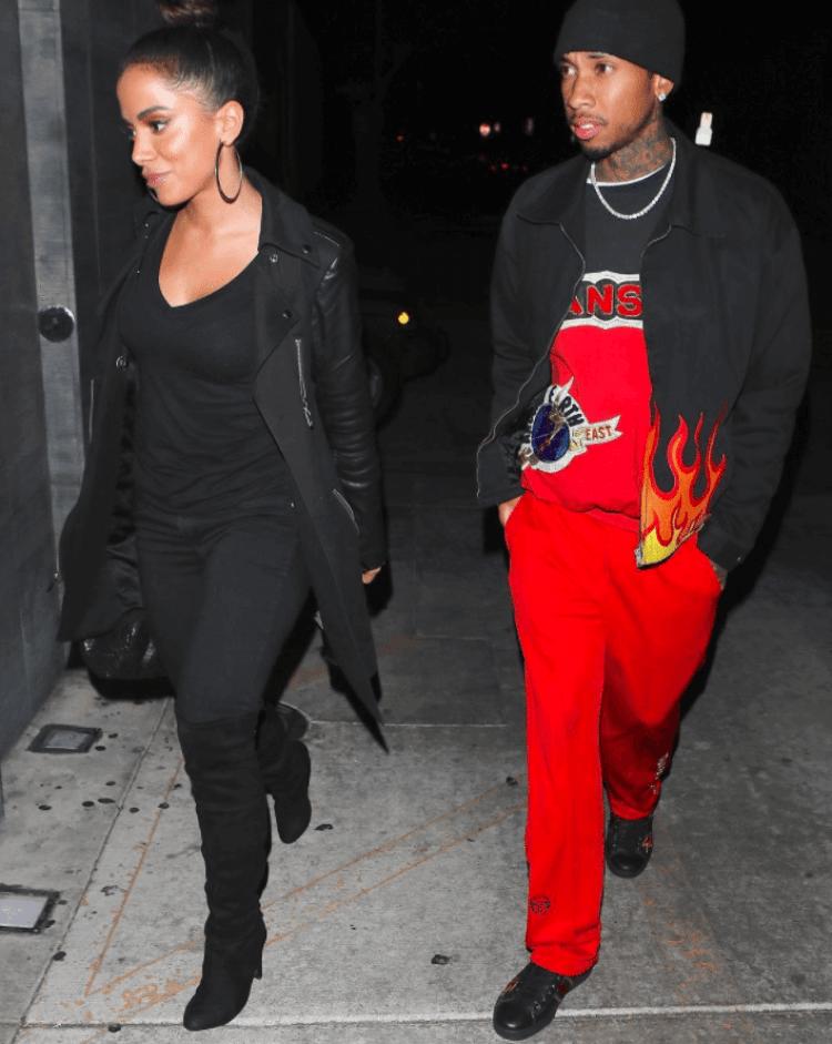 Tyga in the Gucci Sneakers