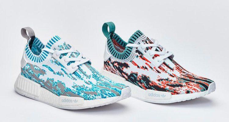 "adidas NMD R1 Primeknit ""Datamosh"" Pack"