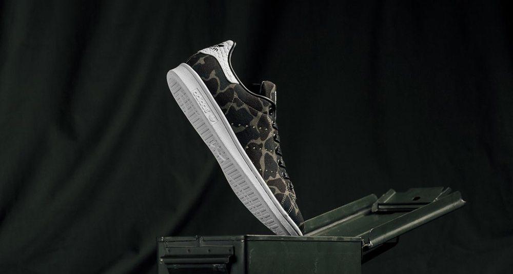 adidas Stan Smith Core Black/Camo