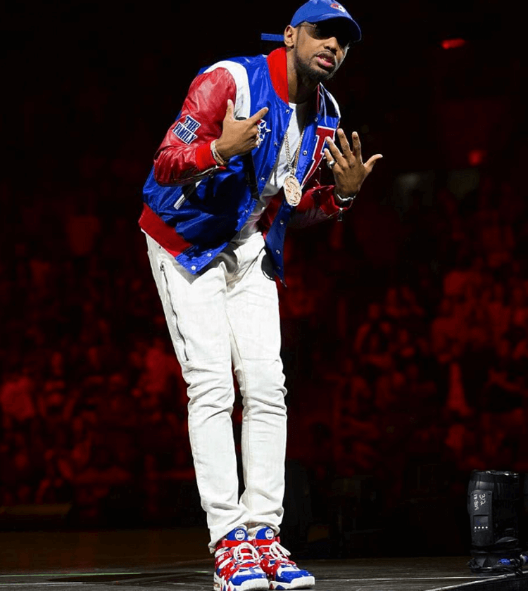 """Fabolous in the Nike Air Max CB 94 """"Derrty"""""""