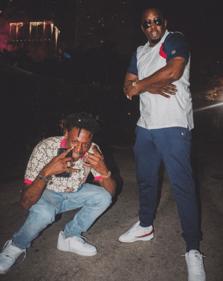 Joey Badass in the Nike Air Force 1 Low & Diddy in the Fila Originals Sneakers