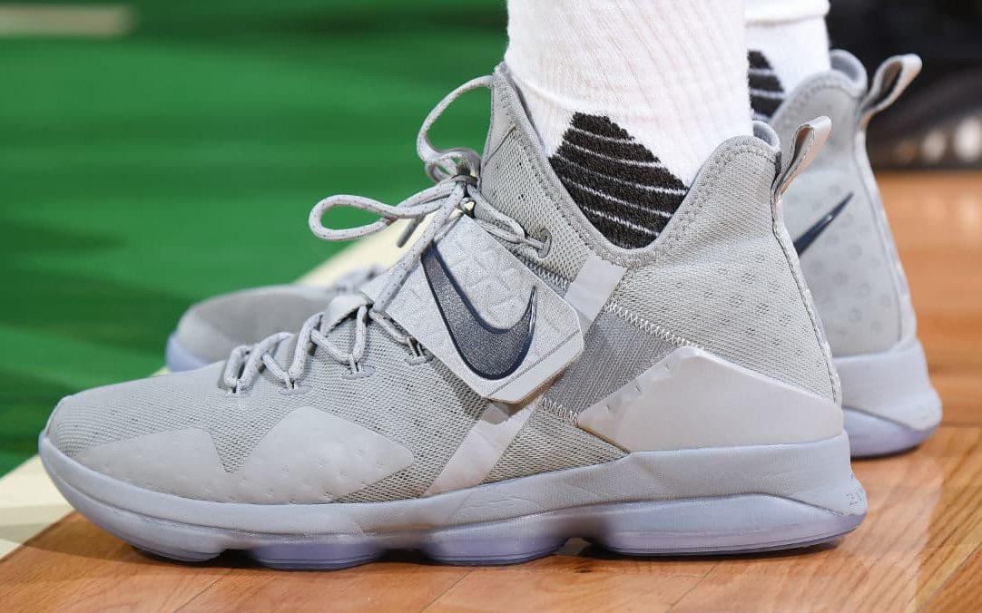 be0a577ea5d9 Nike LeBron 14 — Game 4 vs Boston Celtics