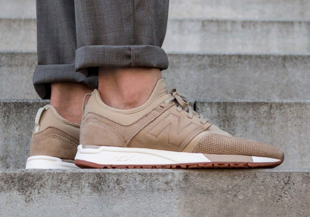 new balance 247 trainers taupe