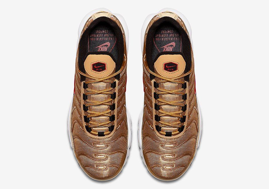 "Nike Air Max Plus ""Metallic Gold"""