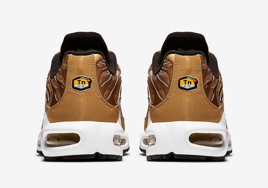 """new products a5979 1df1b ... Gold"""" Nike Air Max Plus"""
