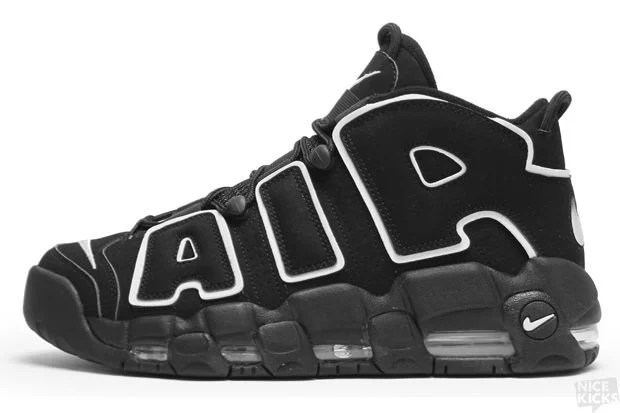 newest 0a706 32dd1 Nike Air More Uptempo Black White (2010)