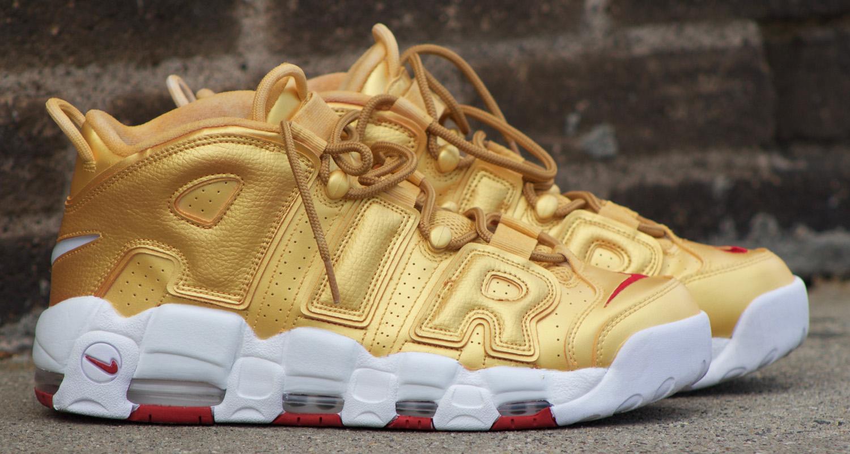 Nike Air More Uptempo Basketball Shoes