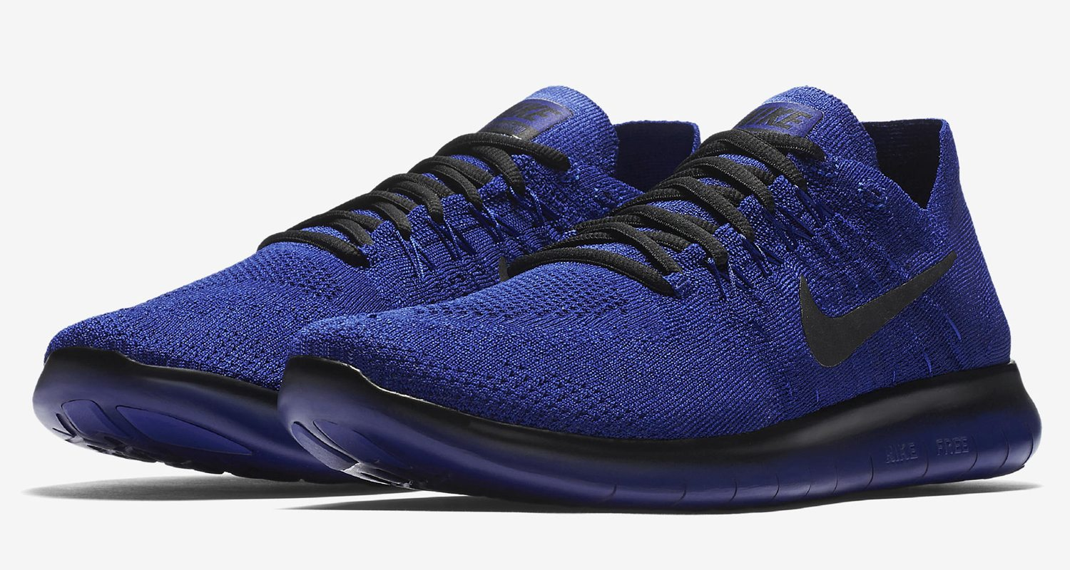 """outlet store a957a 4f46c NikeLab Gyakusou Free RN Flyknit 2017 """"Deep Royal Blue""""    Available Now"""
