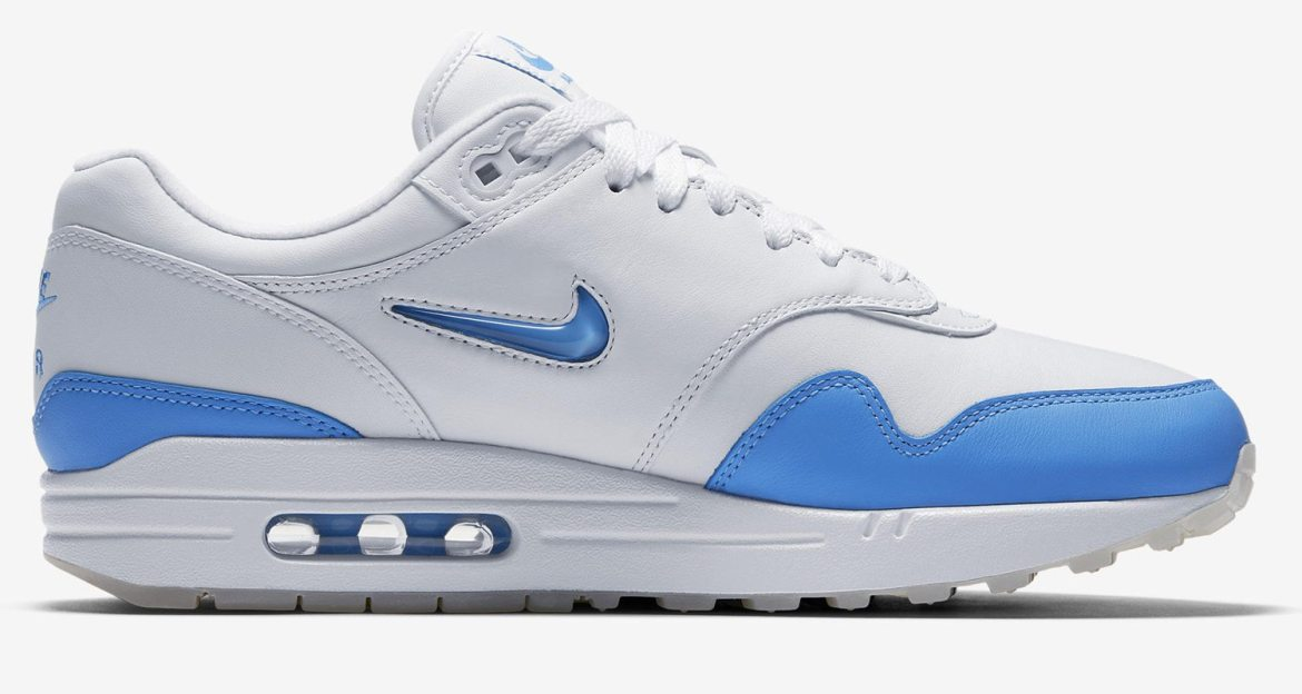 "Nike Air Max 1 Jewel ""University Blue"""