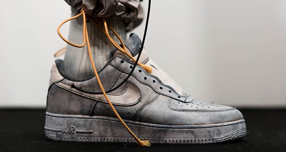wholesale dealer 11791 45557 A-COLD-WALL Reveals Bespoke NikeLab Air Force 1 Low