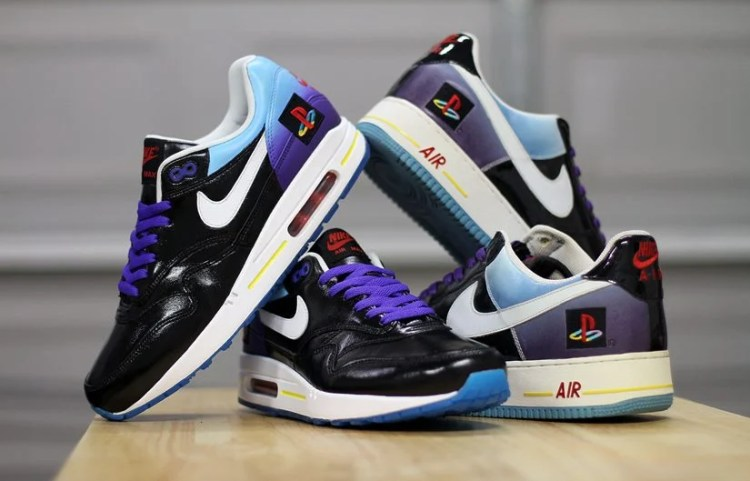 "Nike Air Max 1 ""Playstation"" Custom by Dank Customs"