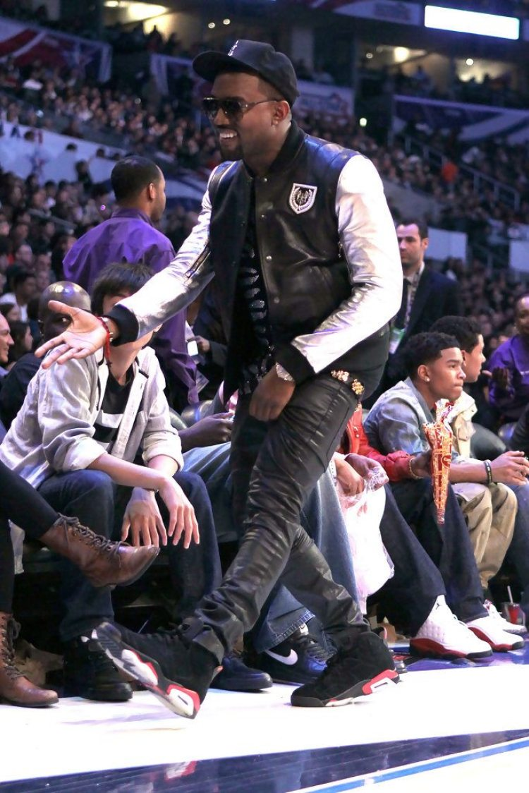 best website 1ff8d 2ab6c ... Kanye West in the Air Jordan 6