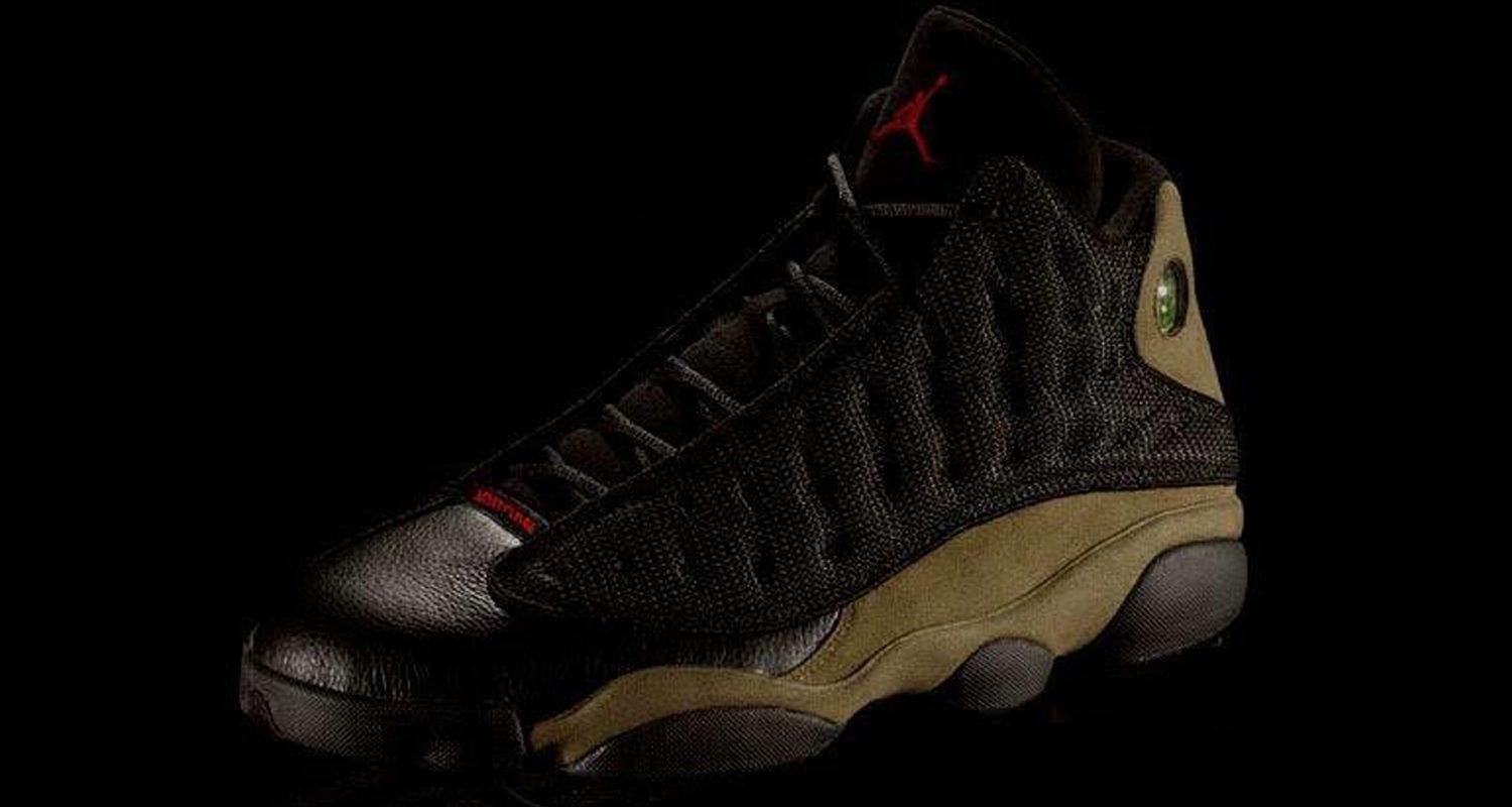 """2e45a3cc682c93 Air Jordan 13 """"Olive"""" Could Be Dropping Next Year"""