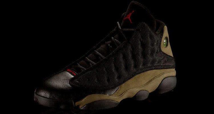 Air Jordan 13 Olive
