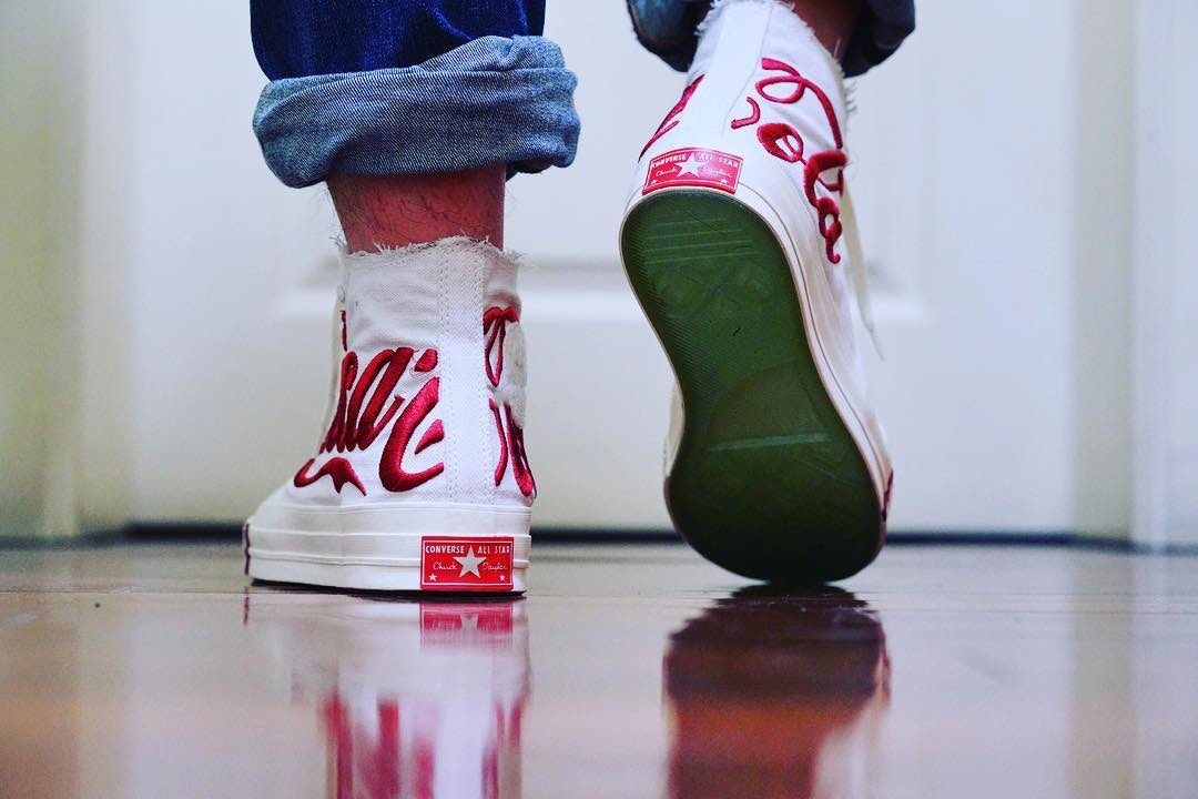 92f6dca9904cde A First Look at the KITH x Coca-Cola x Converse Chuck Taylor All ...