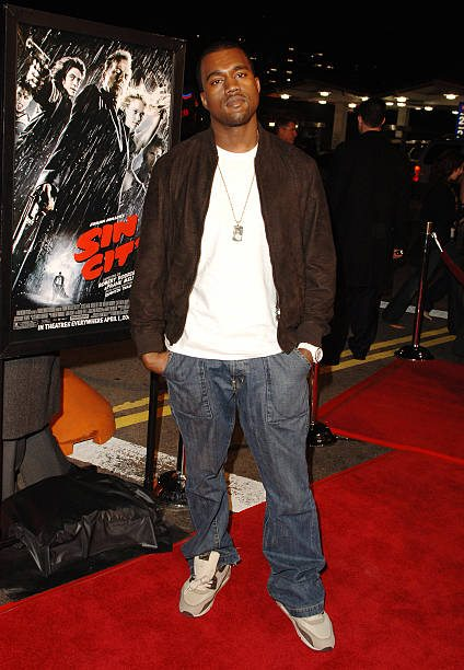 33fa479438aab ... Kanye West in the Nike Air Max 90 ...