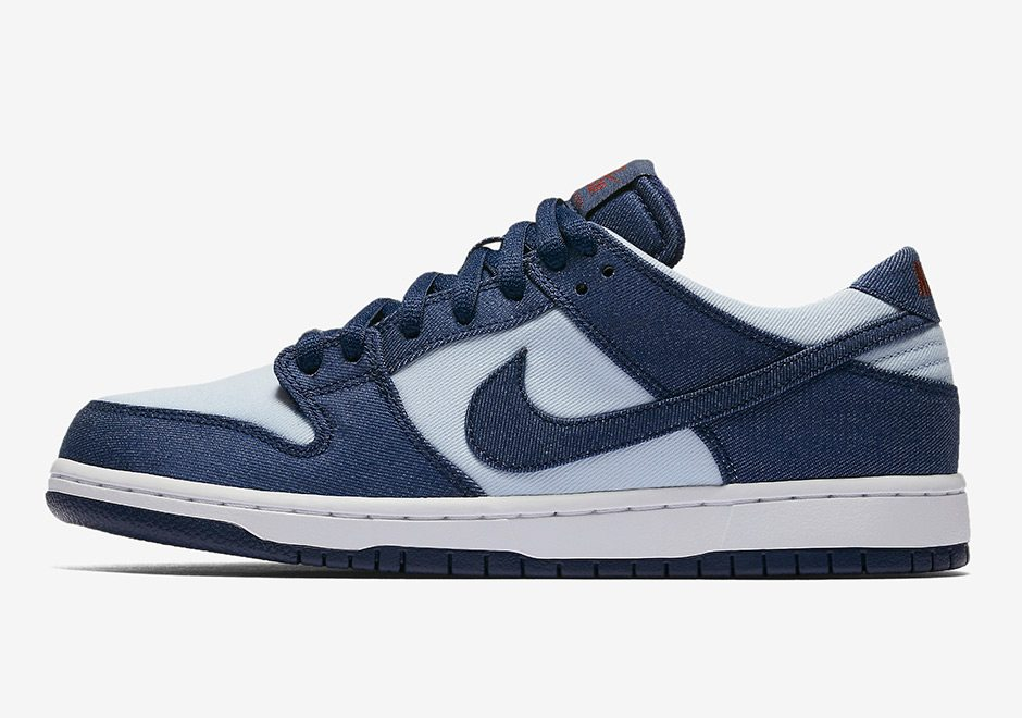 "Nike SB Dunk Low ""Binary Blue"""