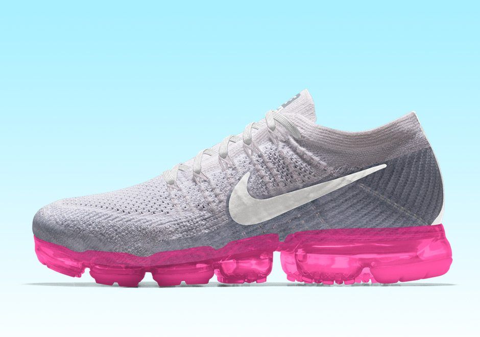 Nike Air VaporMax Lands on NIKEiD with New Sole Options Nice Kicks