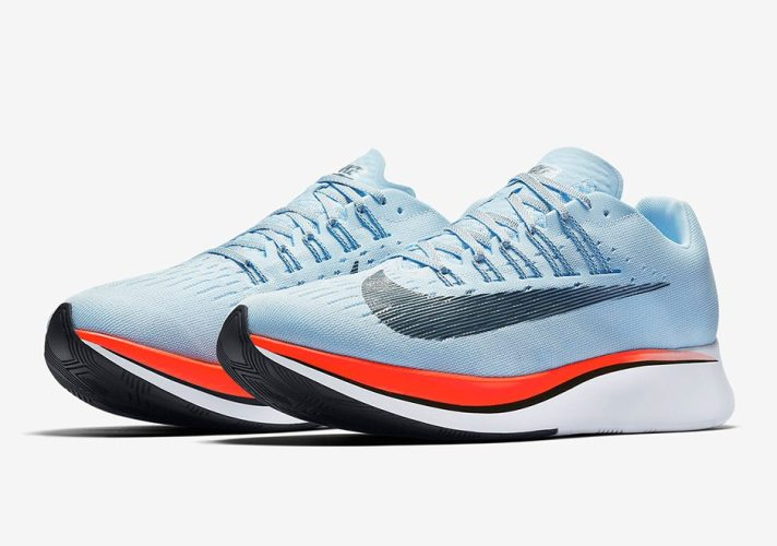 Nike Zoom Fly Quot Ice Blue Quot Available Now Nice Kicks