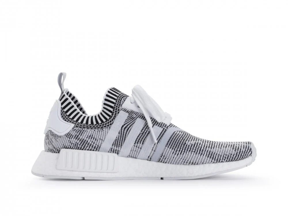 White NMD R1 Primeknit Shoes adidas US AL Safety Design Ltd