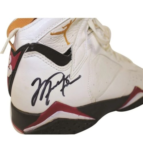 online retailer 59ce6 c2f29 Michael Jordan's Game Worn, Autographed Air Jordan 7s From ...