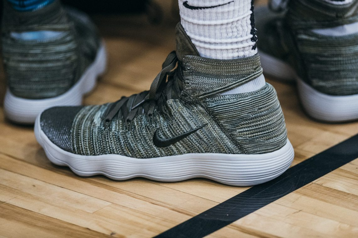 133196e0a62c NikeLab REACT Hyperdunk 2017 Flyknit Spotted On Court at Peach Jam ...