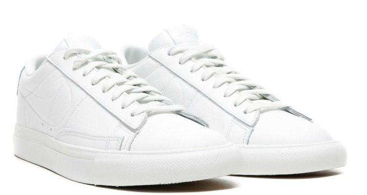 "official photos f7813 7bbe2 ... Nike Blazer Low ""Triple White"" ..."