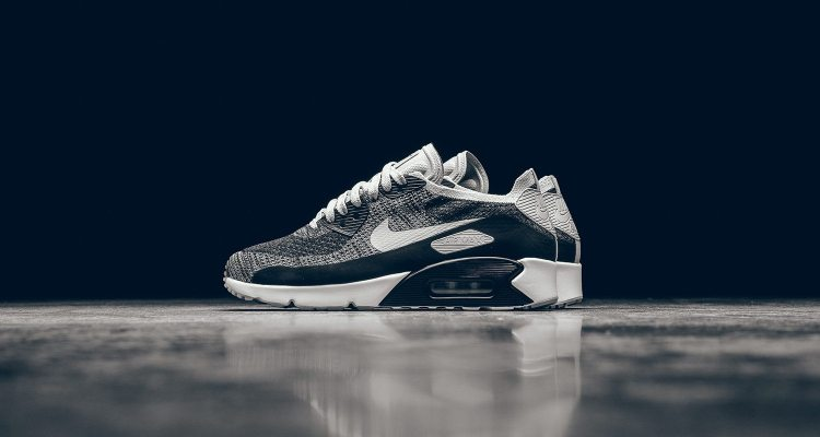 """huge selection of 873f3 6a2bf Nike Air Max 90 Ultra Flyknit 2.0 """"Oreo""""    Available Now"""
