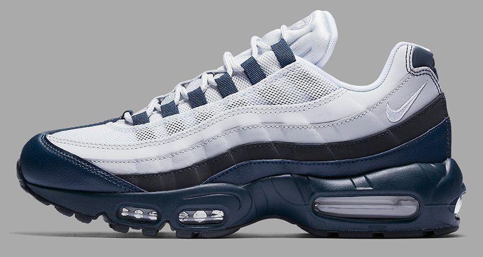 "separation shoes 601a3 7b8a6 Nike Air Max 95 ""Armory Navy""  First Look"
