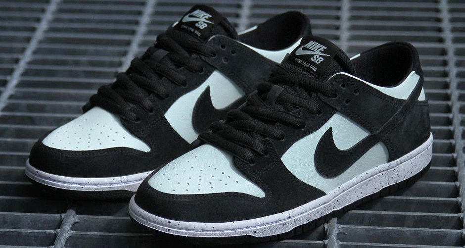 best website 26b15 c1bb2 Nike SB Dunk Low Pro Gets a Fresh Black and Mint Execution