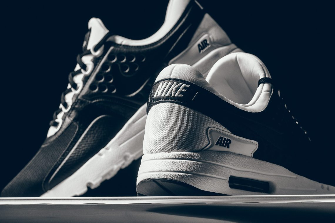 buy popular 36de1 0b5de ... Nike Air Max Zero PRM BlackWhite