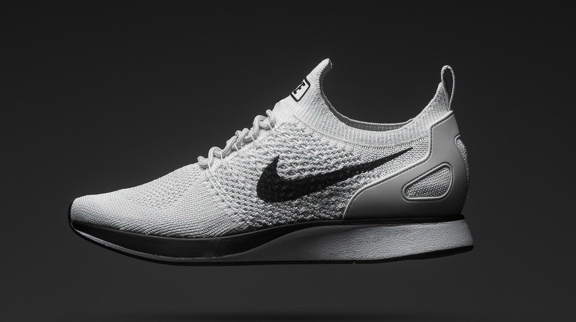 "pretty nice 3323e 7ba70 Nike Air Zoom Mariah Flyknit Racer ""Pure Platinum""    Releasing Soon"